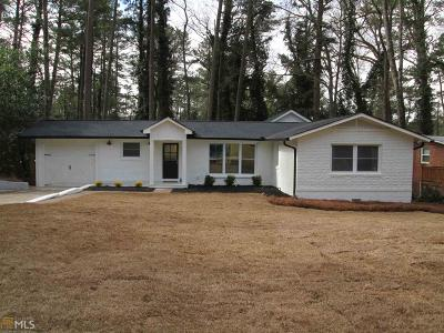 Chamblee Single Family Home Under Contract: 3896 Longview Dr