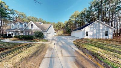 Newnan Single Family Home New: 1180 Emmett Young Rd