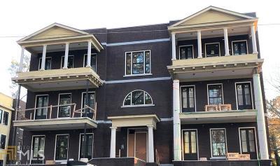 Alpharetta GA Condo/Townhouse New: $850,000