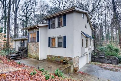 Marietta Single Family Home New: 160 Hunting Creek Dr