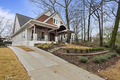 Atlanta Single Family Home New: 219 Lindbergh Dr