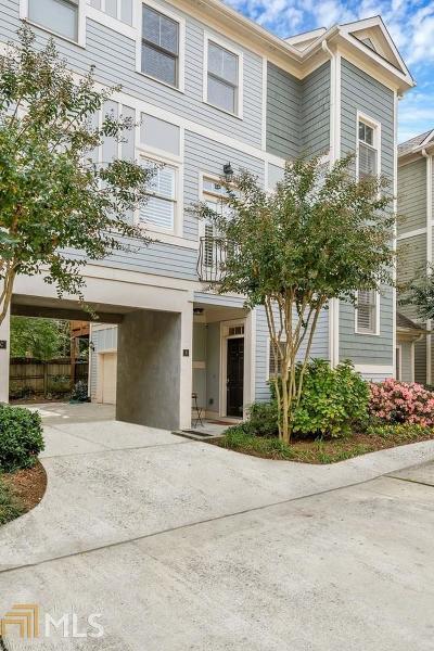 Atlanta Condo/Townhouse Under Contract: 556 Moreland Ave #D