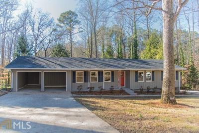 Acworth Single Family Home New: 5475 Seminole Way