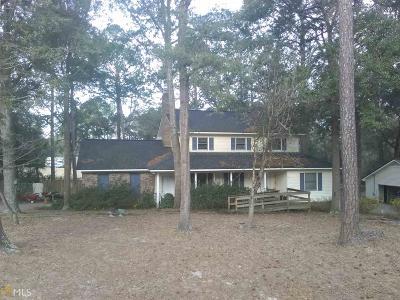 Statesboro Single Family Home New: 107 Oakcrest