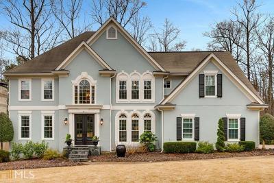 Peachtree Corners Single Family Home New: 5726 Fairley Hall Ct