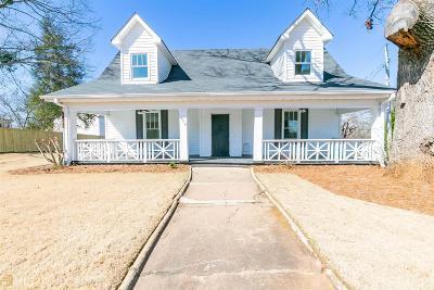 Buford Single Family Home New: 509 W Shadburn