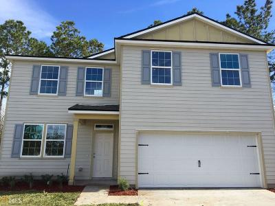 Kingsland GA Single Family Home New: $213,990