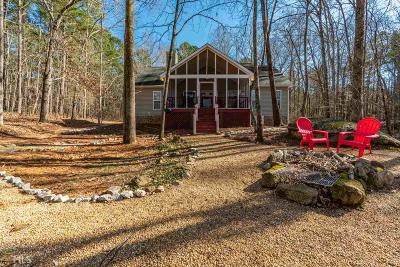 Greensboro, Eatonton Single Family Home Under Contract: 146 Winding River Rd