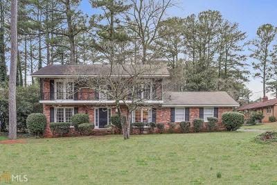 Stone Mountain Single Family Home Under Contract: 928 Fairwind Ct