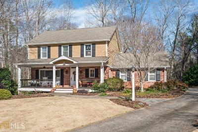 Marietta Single Family Home Under Contract: 1442 Mulberry Ct