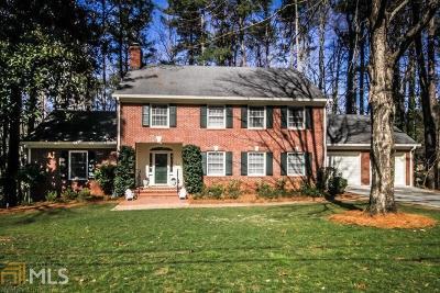 Atlanta Single Family Home Under Contract: 1502 Rainier Falls Dr