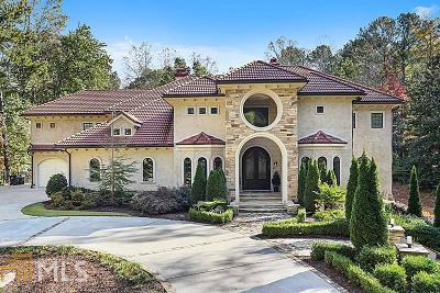 Roswell, Sandy Springs Single Family Home For Sale: 7855 Saddle Ridge Dr