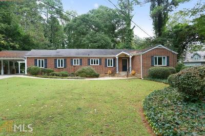 Atlanta Single Family Home New: 2905 W Roxboro Rd