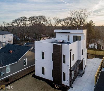 Atlanta Single Family Home New: 126 Moreland Ave