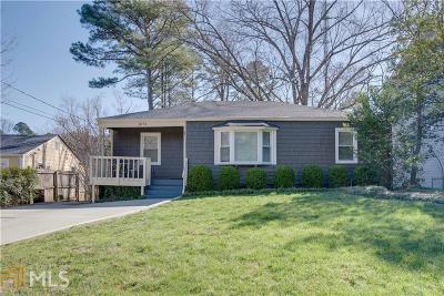 Atlanta Single Family Home New: 1073 Vista Trl