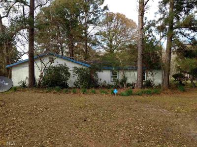 Brooklet Single Family Home For Sale: 4523 Mud