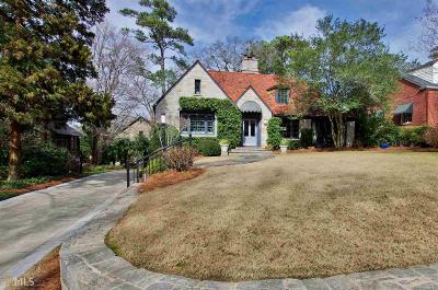 Atlanta Single Family Home New: 926 Plymouth Rd