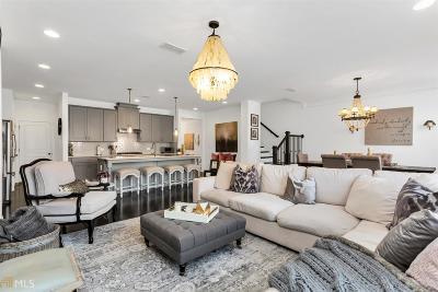 Johns Creek Condo/Townhouse For Sale: 9844 Cameron Parc Cir