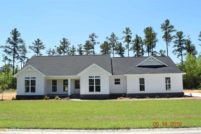 Statesboro Single Family Home For Sale: Ashford #Lot 54
