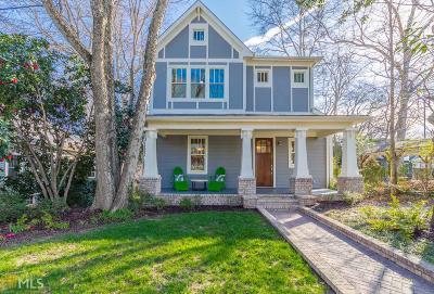 Atlanta Single Family Home New: 243 Mathews Ave