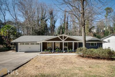 Atlanta Single Family Home New: 2606 Rangewood Dr