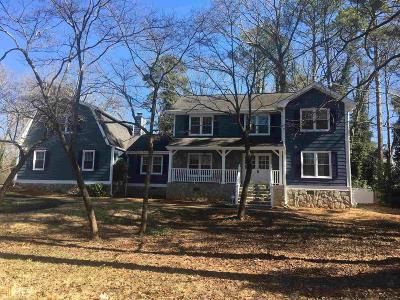 Stone Mountain Single Family Home Under Contract: 735 John Alden Rd