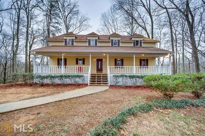 Powder Springs Single Family Home New: 180 Ritchfield Dr #7 Acres