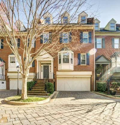 Atlanta Condo/Townhouse New: 3685 Peachtree Rd #3
