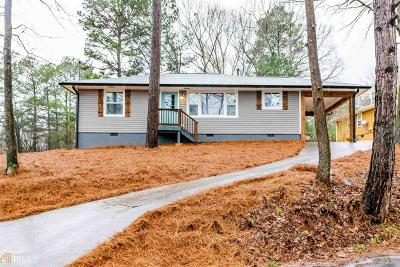 Douglasville GA Single Family Home New: $139,977