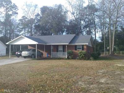 Statesboro Single Family Home New: 14 Carmel Dr