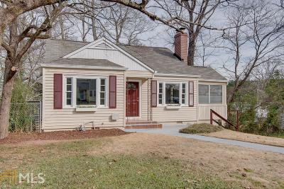 Single Family Home Under Contract: 1829 Broad Ave