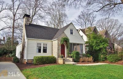 Atlanta Single Family Home New: 1125 University Rd
