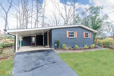 Smyrna Single Family Home New: 530 Cobb Cir