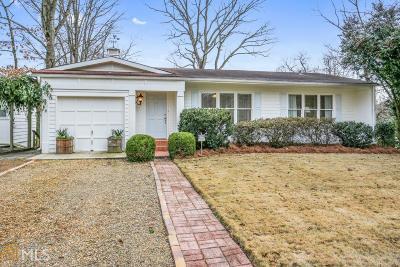 Atlanta Single Family Home New: 1855 Woodland Hills Ave