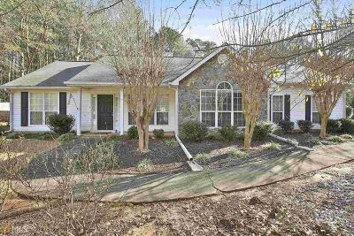 Coweta County Single Family Home Under Contract: 86 Bradford Station Dr