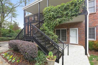 Atlanta Condo/Townhouse New: 3675 Peachtree Road NE #33