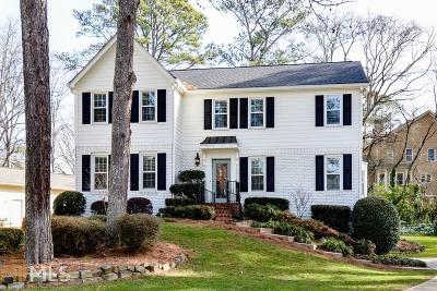 Cobb County Single Family Home New: 3462 Nantucket Drive