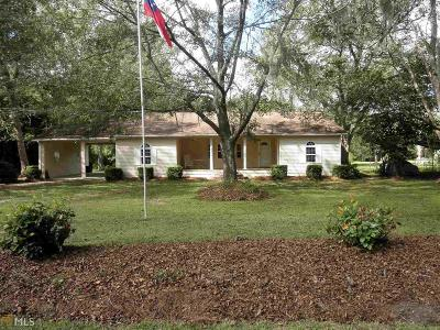 Brooklet Single Family Home For Sale: 191 Stilson Leefield Rd