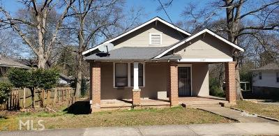 East Point Single Family Home New: 1749 Thompson Ave