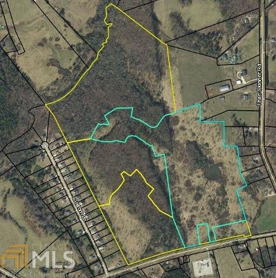 Winder Residential Lots & Land New: Rockwell Church Rd