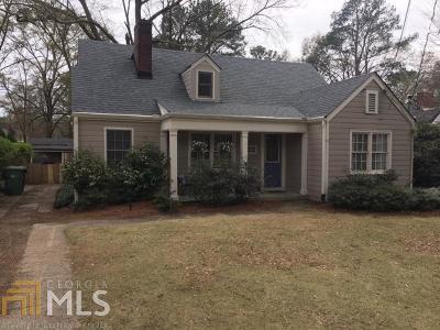 Atlanta Single Family Home New: 2801 Hosea L Williams