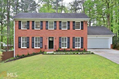 Fulton County Single Family Home Under Contract: 25 Brandon Ridge Dr