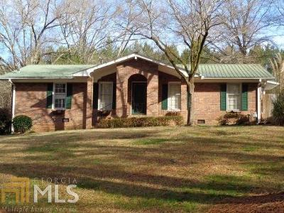 Lavonia Single Family Home Under Contract: 140 Brookwood Dr