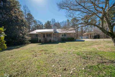 Coweta County Single Family Home Under Contract: 972 Country Club Rd