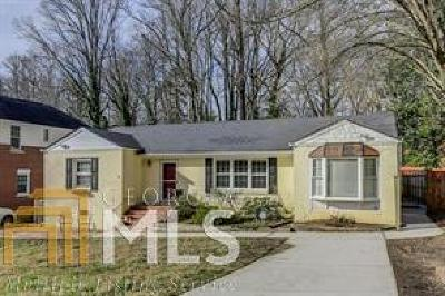 Atlanta Single Family Home For Sale: 1275 Briardale Ln