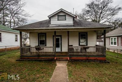 Cartersville Single Family Home New: 3 Akron Street