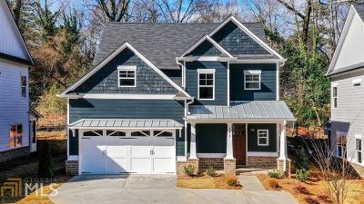 Single Family Home New: 161 Candler Road SE