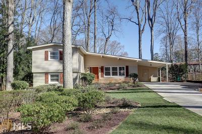 Smyrna Single Family Home New: 3639 Lake Drive