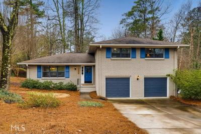 Dunwoody Single Family Home Under Contract: 2397 Kingsland Dr
