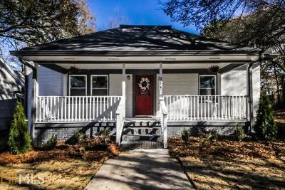 Atlanta Single Family Home New: 256 Laurel Ave SW